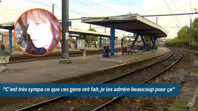 rencontre train belgique