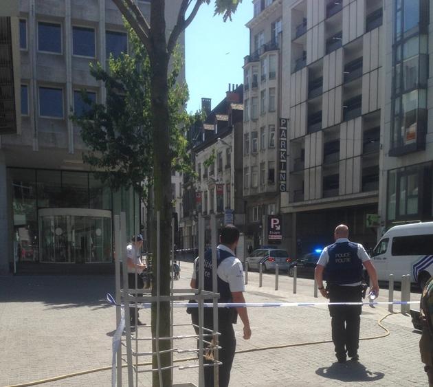 Le suspect arrêté serait un étudiant en ondes et radiations — Bruxelles