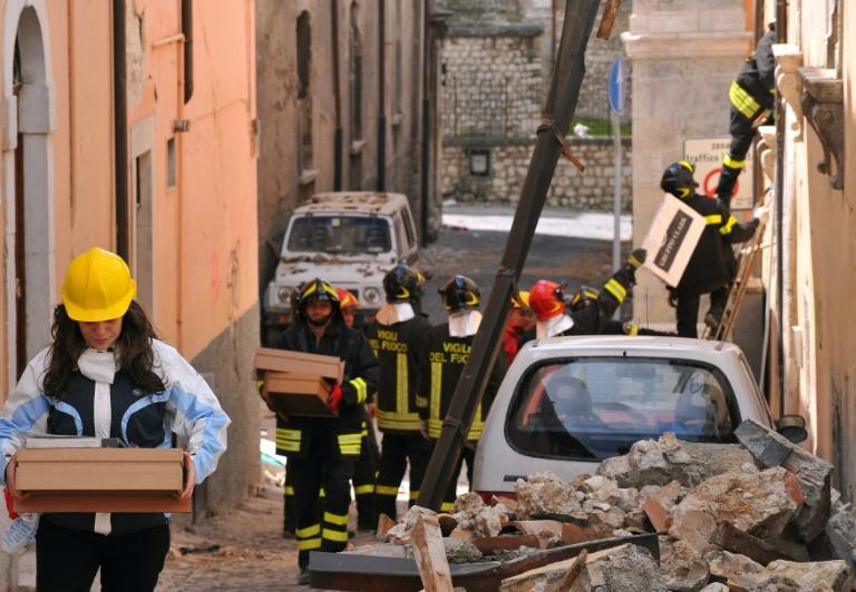 Secousses en série dans le centre du pays — Séisme en Italie