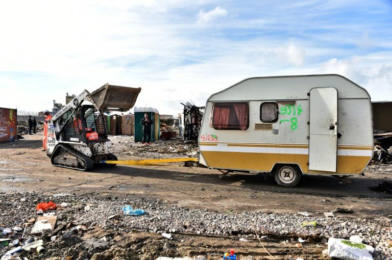 Le camp a été totalement démantelé —