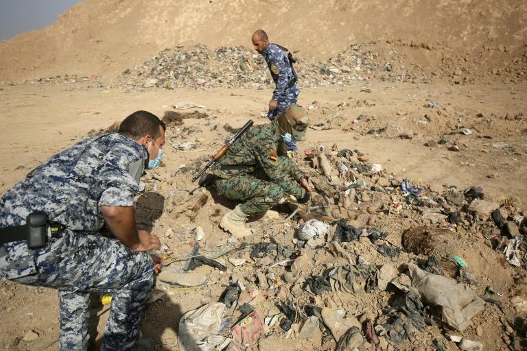 Percée de l'armée irakienne sur le front sud — Mossoul