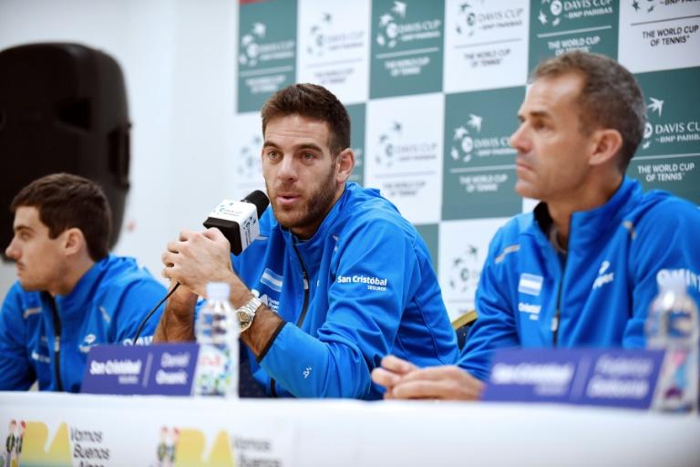 Coupe Davis: l'Argentine égalise grâce à Del Potro