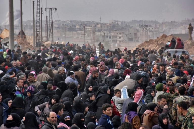 50.000 personnes ont fui Alep-Est en quatre jours — Syrie