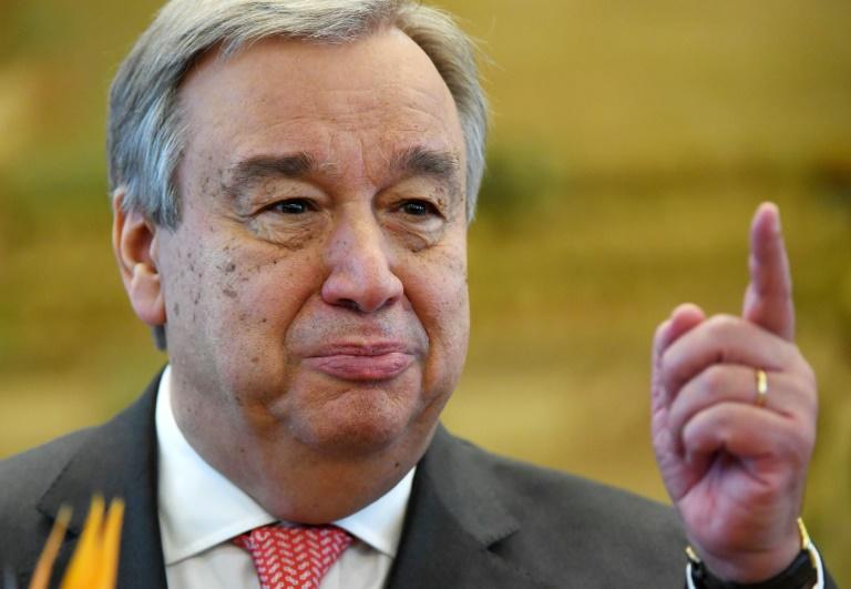 LEAD Antonio Guterres intronisé nouveau secrétaire général de l'ONU