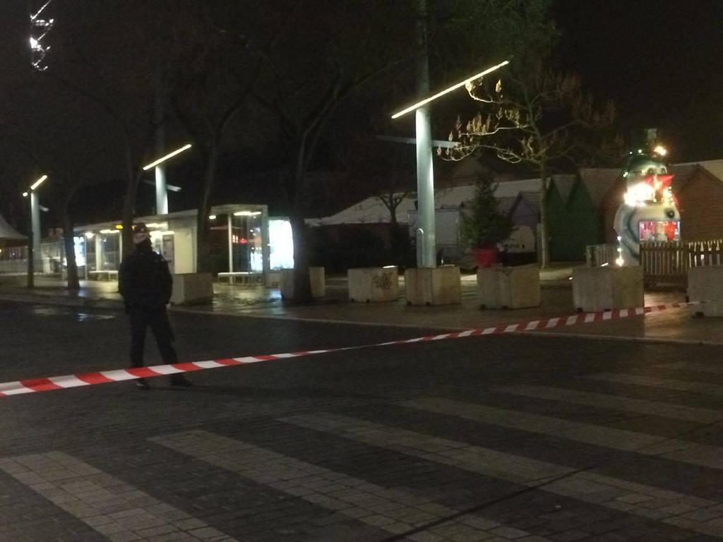La place de la République évacuée à Metz vendredi — Une voiture suspecte