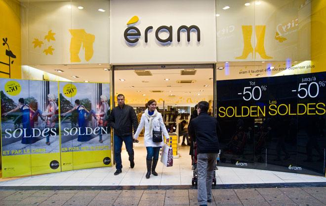 3418cd6d5a159e 5minutes.lu - Luxembourg - Eram fait grève: Les magasins de chaussures Eram  fermés samedi