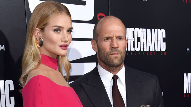 Rosie Huntington-Whiteley et Jason Statham attendent un enfant