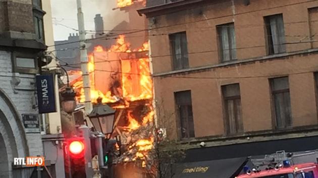 Explosion au gaz à Saint-Gilles: sept blessés dont un grièvement