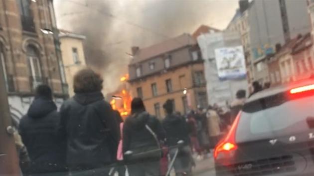 Sept blessés après une explosion dans une habitation — Bruxelles