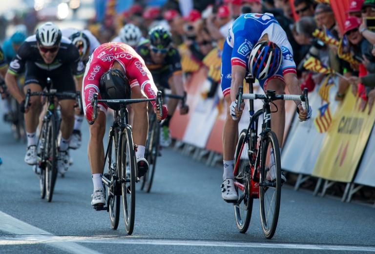 Tour de Catalogne : Nacer Bouhanni remporte la 4e étape devant Davide Cimolai