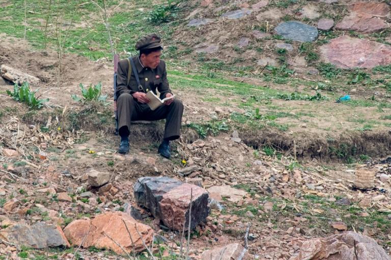 Mike Pence près de la frontière nord-coréenne