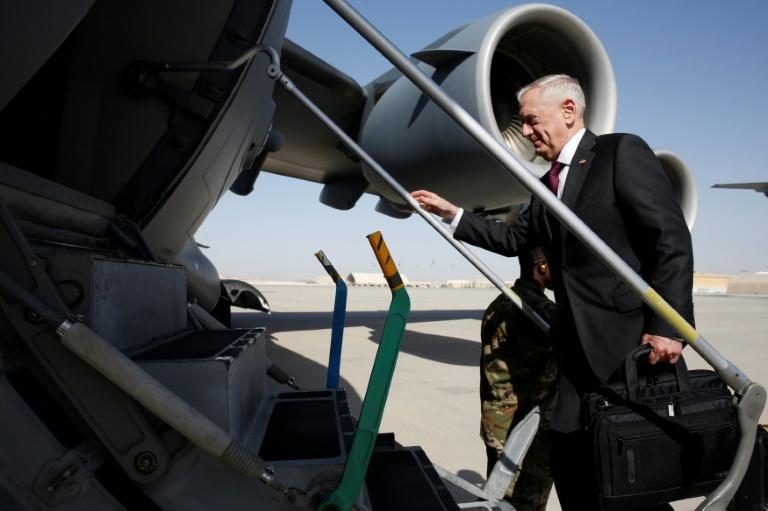 Séjour du chef du Pentagone — Afghanistan
