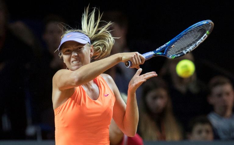 Stuttgart (Allemagne) - Tennis: Sharapova qualifiée pour les quarts de finale à Stuttgart