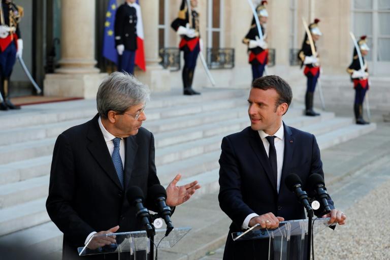 France et Italie se disent prêtes à réformer l'Europe ensemble