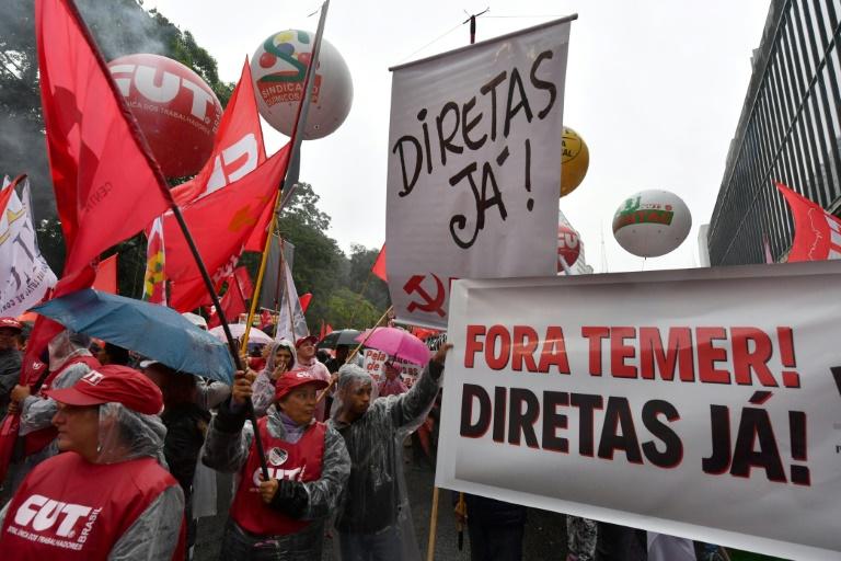 Le président dans la tourmente — Brésil