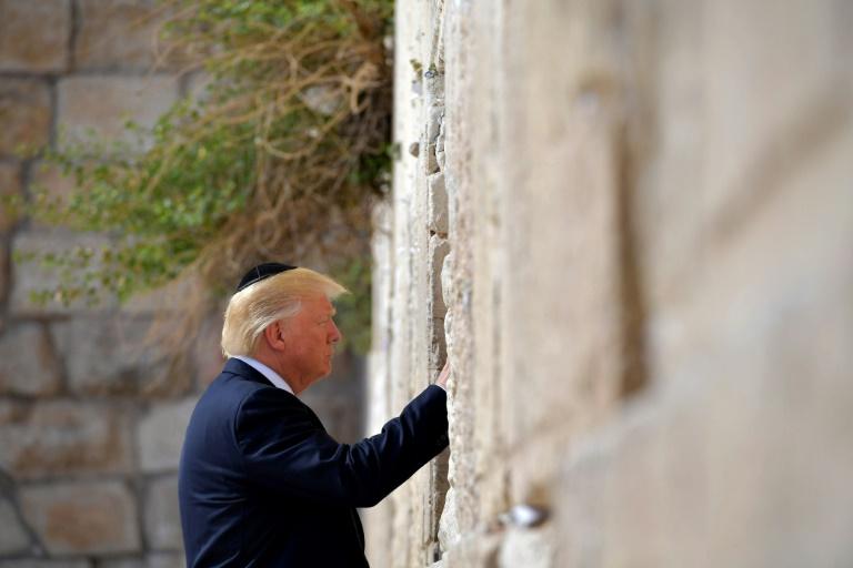 EN IMAGES. La visite réglée au cordeau de Donald Trump en Israël