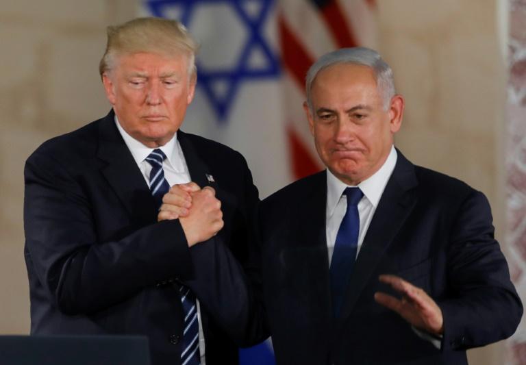 Donald Trump a rencontré le président palestinien Abbas en Cisjordanie