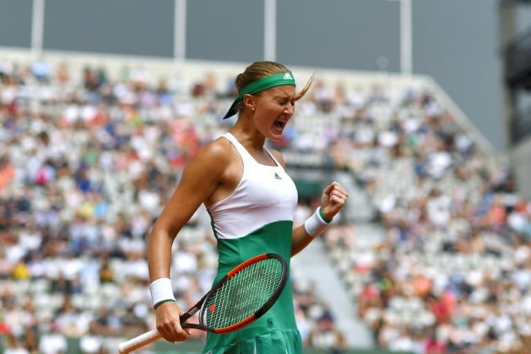 Roland-Garros : Mladenovic sort Muguruza et file en quarts de finale