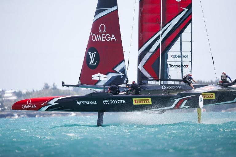 Neutralisation de la 1re course faute de vent — Finale des challengers
