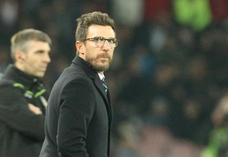 Sassuolo : Le club confirme le départ d'Eusebio Di Francesco
