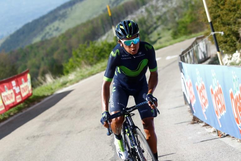 Avec Quintana et Valverde — Movistar