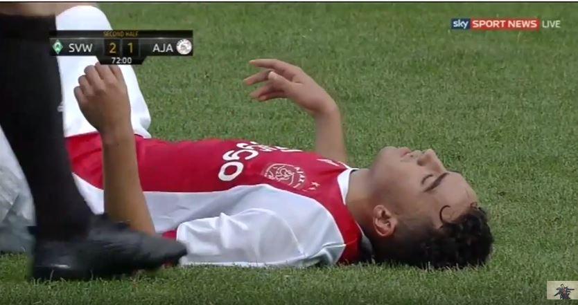 Abdelhak Nouri victime d'un malaise cardiaque
