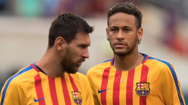 Le doublé de Neymar avec le Barça face à la Juve — ICC