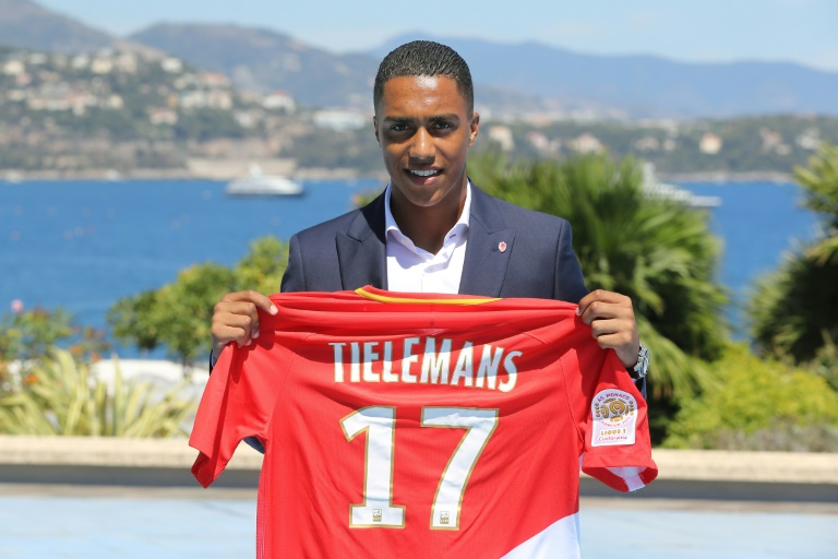 Maillot Domicile AS Monaco Youri TIELEMANS