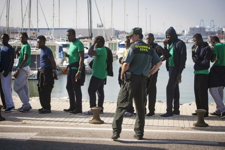 De plus en plus de migrants traversant la Méditerranée arrivent en Espagne