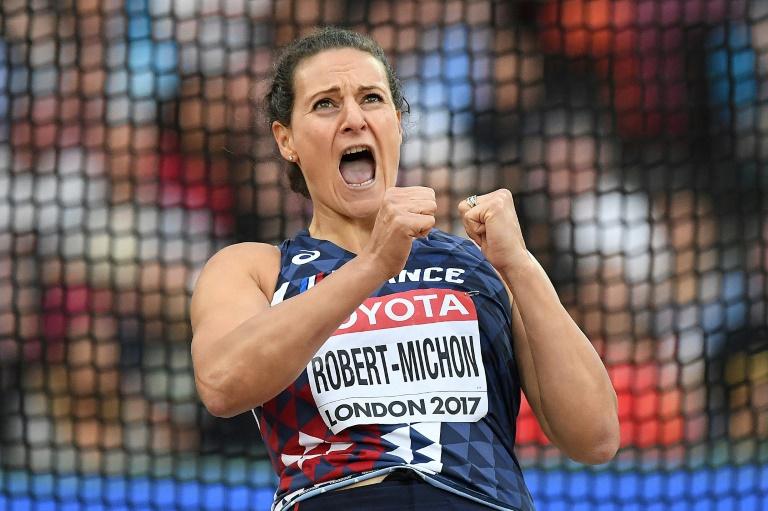 Athlétisme : Mélina Robert-Michon décroche le bronze au lancer du disque