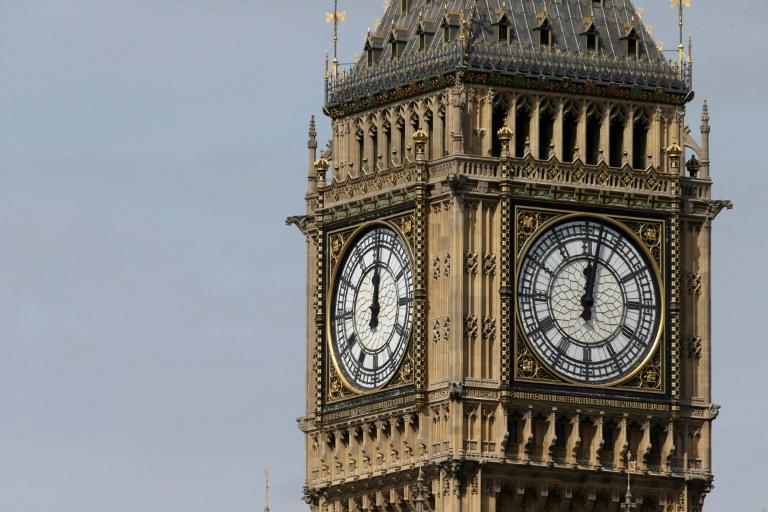 La tour Elizabeth abritant la cloche Big Ben à Londres le 14 août 2017