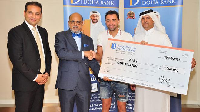 Xavi gagne 229 000 euros à la loterie !