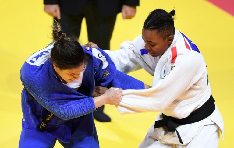 Pas de médaille pour Marie-Eve Gahié — Judo