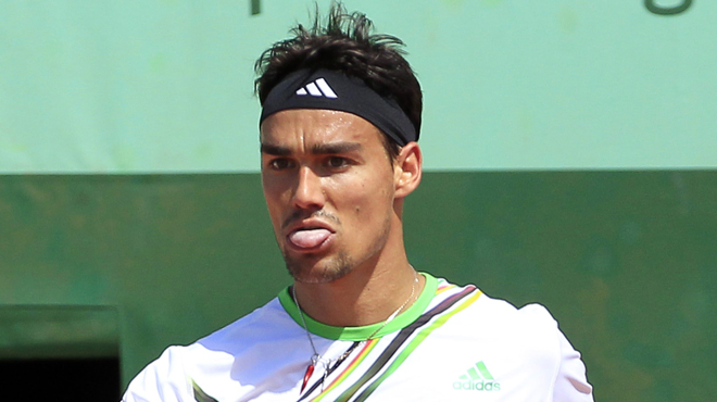 Fognini viré après ses insultes sexistes envers une arbitre — US Open
