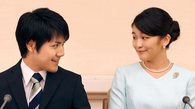 La princesse Mako renonce à sa royauté pour épouser un roturier — Japon