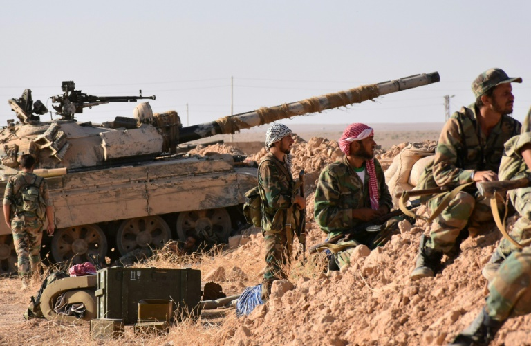 Offensive d'une force arabo-kurde contre Daesh à Deir Ezzor