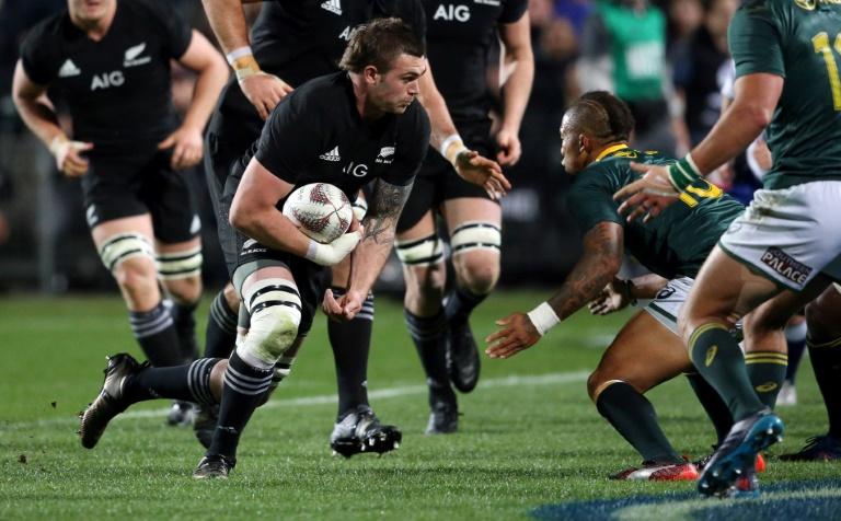 Liam Squire et les All Blacks n'ont laissé aucune chance aux Springboks écrasés 57-0
