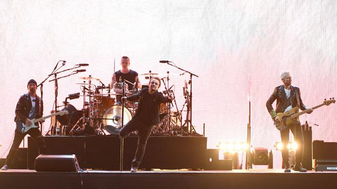 U2 annule un concert à St. Louis à cause des manifs