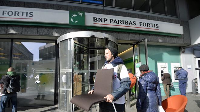 65 agences fermeront en 2018 — BNP Paribas Fortis