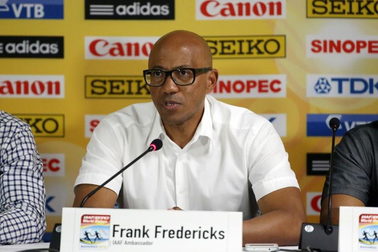 A Paris, Frankie Fredericks refait surface