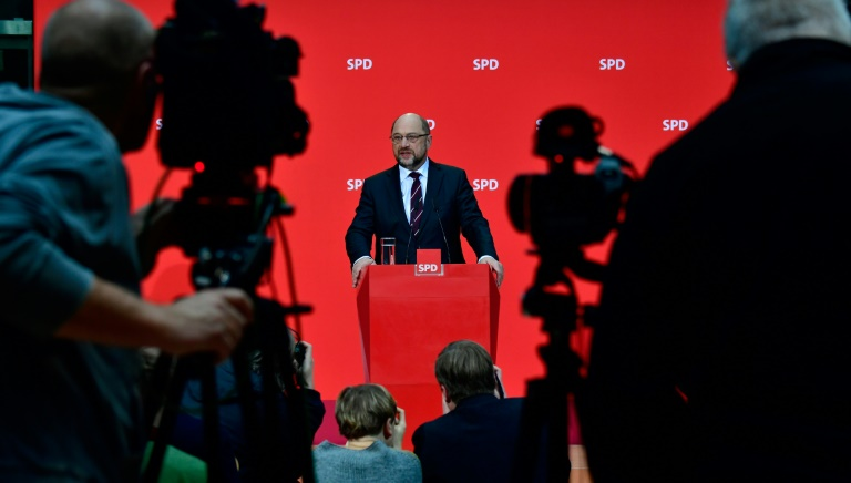 Réunion CDU-CSU-SPD mercredi — Allemagne