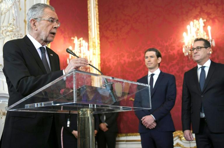 Accord de gouvernement entre droite et extrême droite (partis) — Autriche