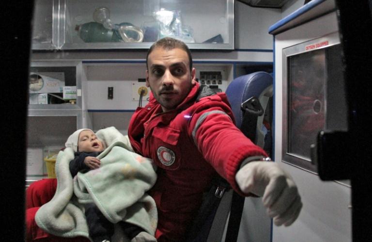 La Ghouta, dernière enclave rebelle près de Damas