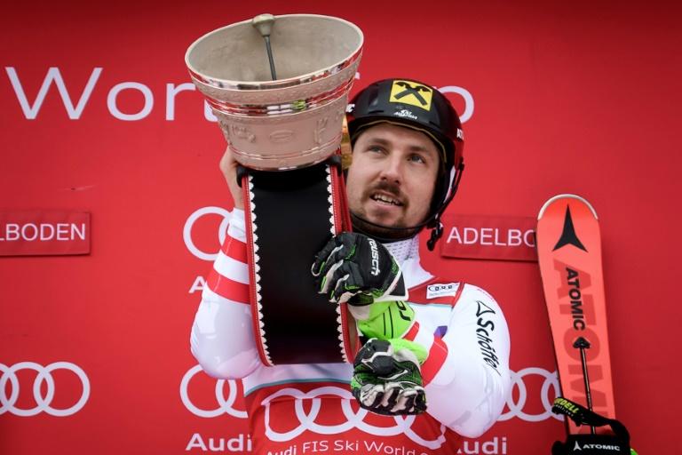 Pinturault sur le podium à Adelboden, Hirscher vainqueur