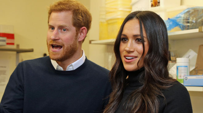 Royaume-Uni : le prince Harry et Meghan Markle destinataires d'un courrier
