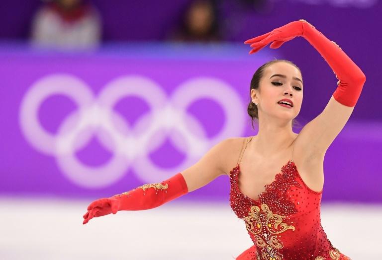 Alina Zagitova, première médaille d'or de la Russie sous bannière olympique