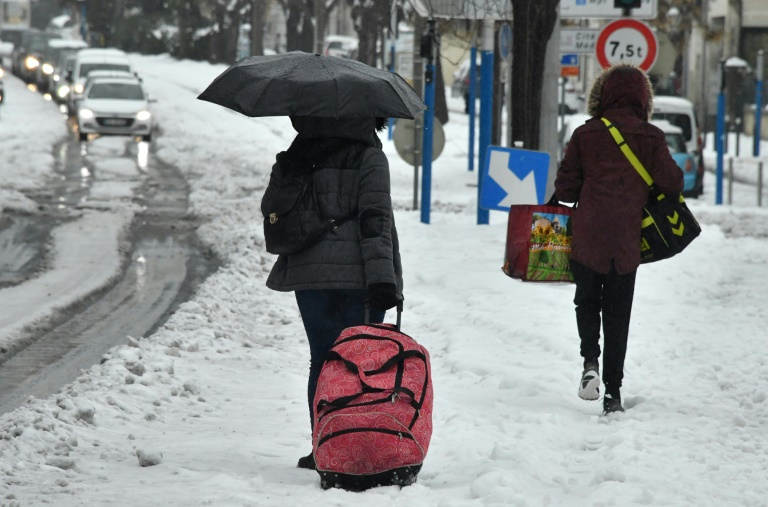 froid sibérien france