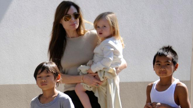Angelina Jolie dénonce des propos
