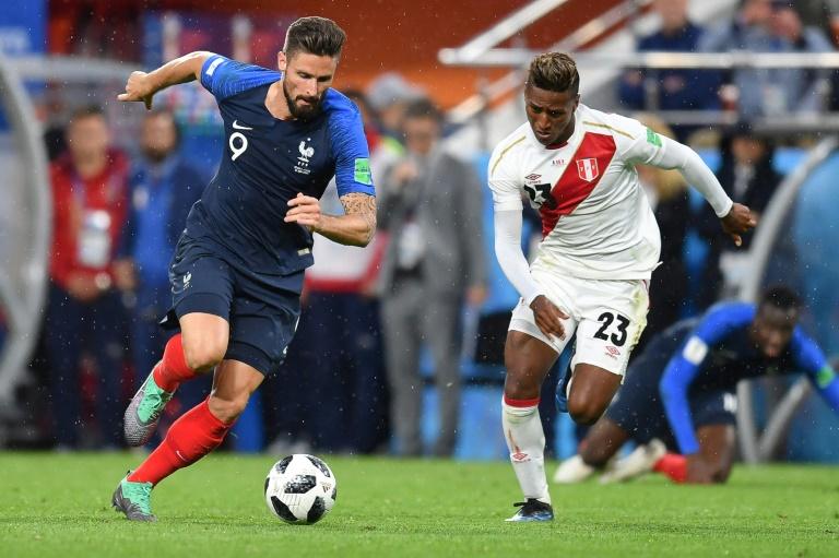 France 1-0 Pérou (fini) — Coupe du Monde