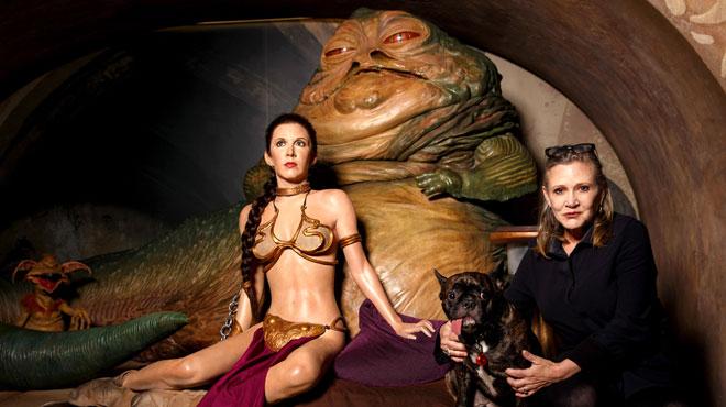 Carrie Fisher (Leia) sera présente dans Star Wars Episode IX